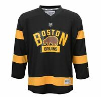 NHL Reebok Boston Bruins Winter Classic Youth Hockey Jersey L/XL S/M NWT