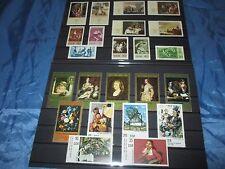 Briefmarken  DDR ,  Kunst / Gemälde , Sätze / postfrisch , 70er  Jahre  /  33