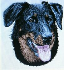 Beauceron Dog Breed Bathroom Set Of 2 Hand Towels Embroidered