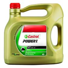 HUILE MOTO CASTROL POWER1 SEMI SYNTHESE 4T 15W50 4L PE_36010220 MOTOMIKE 34