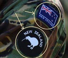 KANDAHAR WHACKER© NATO ISAF COALITION ARMED FORCES SSI: NEW ZEALAND KIWI + FLAG