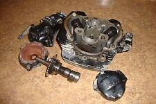 1981 Honda ATC 200 3 wheeler 3Wheeler Engine Cylinder Head Cam Shaft Valves C1
