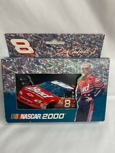 Dale Earnhardt Jr 2 Decks Playing Cards Collectible Tin NASCAR New Unopened 2002