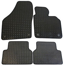 For Volkswagen VW Tiguan MK1 2007-2016 Tailored 4 Piece Rubber Car Mats 4 Clips