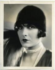 Evelyn Brent Stunning Vintage Silent Era Original Stamped Glamour Photo 1927