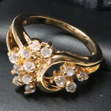 Vintage Antique Diamond Ring Women Wedding Engagement Jewelry Holiday Gift R6256