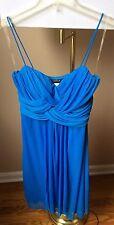 B.Darlin Women Blue Strap Dress 7/8, Pre-owned