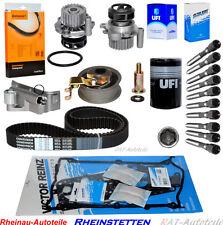 Zylinderkopfdichtungsatz Zahnriemensatz Wasserpumpe Ölfilter AUDI A3 1.8 Mot.AGN