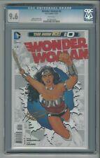 Wonder Woman #0 CGC 9.6 NM+ DC Comics The New 52 11/12 Cliff Chiang Cover & Art