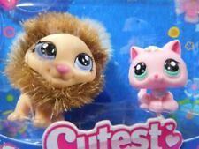 Littlest Pet Shop LPS Cutest Pets Lion & Pink Baby Kitten #2574 & 2575 New NIP