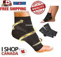 Compression Socks Ankle Brace Sock Foot Doc Plantar Arch Support Pain Relief Can
