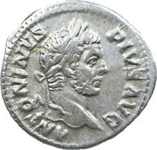 Lot 408: Caracalla AD 198-217. Rome Denarius AR,a