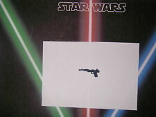 Star wars vintage arme repro weapon B wing  , AT ST Driver , Leia Poncho vintage
