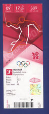 Orig.Ticket  Olympic Games LONDON 2012   HANDBALL  1/2 FINAL  NORWAY - S.KOREA