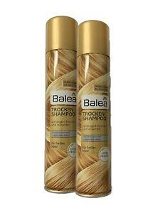 Balea Trockenshampoo, 2x 200 ml - Für helles Haar