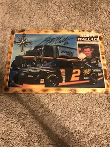 Rusty Wallace Clock