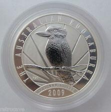 2009 Australian Kookaburra 2 oz .999 Silver Bullion Coin