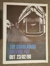 The Charlatns Melting point 1998 press advert Full page 30 x 40 cm mini poster
