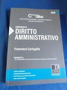 COMPENDIO DI DIRITTO  AMMINISTRATIVO   2021- DIKE