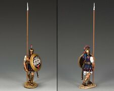 AG032 Hoplite Soldier with Long Spear (Vertical) by King and Country