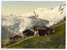SaaS tassa Alpina Vista Alpi Valais di A4 FOTO STAMPA