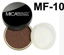Mica Beauty Foundation Powder MF-10 Brown Points   + Free Nail File