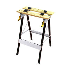 Foldable Workbench Adjustable Angle Adjustable Saw Horse Trestle Support 100kg
