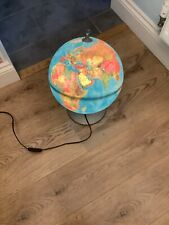 Early Learing Centre Illuminated Globe / Lamp, Raised Geograpical Features