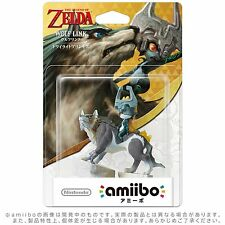 NEW 3DS Wii U Amiibo Wolf Link The Legend of Zelda Twilight Princess Japan F/S