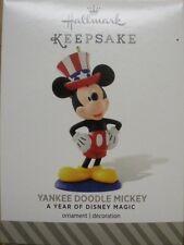 Hallmark 2014 - A Year Of Disney Magic - Yankee Doodle Mickey - NEW