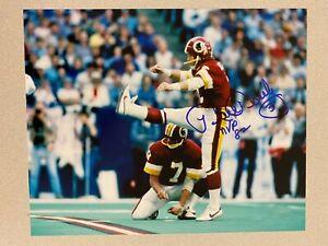 Mark Moseley signed WASHINGTON REDSKINS 8 x 10 Photo  82' NFL MVP