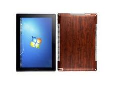Skinomi Dark Wood Full + Screen Protector Film for Asus Ep121