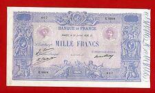 (Ref: E.260 )  1000 FRANCS ( BLEU ET ROSE ) 31/07/1926 (TTB+)