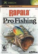 XBOX RAPALA PRO FISHING GAME IN VERY GOOD CONDITION - BOOKLET.
