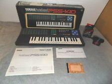 YAMAHA PORTASOUND PSS-140 KEYBOARD With Synthesizer & Drums FREE SHIPPING