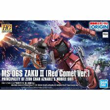 #24 Ms-06S Zaku Ii Principality of Zeon Char Aznable's Red Comet Ver. Bandai Hg