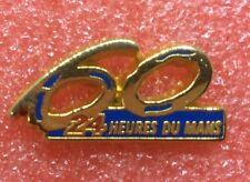 Pins 60 Ans LES 24 HEURES DU MANS Course de Voiture Moto Racing Car Bike 24h