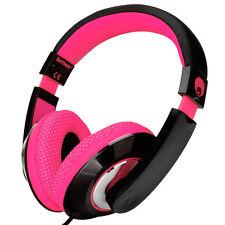 Adjustable Childs Kids Girls Headband Headphones iPod iPad DVD iPhone Pink Black