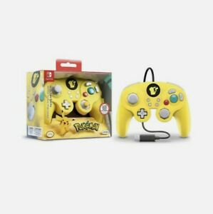 Nintendo Pokemon Pikachu Wired Fight Pad Pro Controller for Nintendo Switch