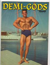Demi Gods Bodybuilding Physique Magazine/Dick Dubois/Larry Scott 9-61 vol 1 #4