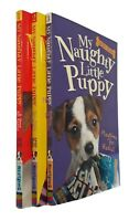 My Naughty Little Puppy 3 Books Holly Webb Home For Rascal Kids Children New