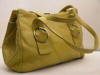 Vintage ALLIGATOR Made in England 60/70s Shoulder Bag Stunning leather mustard