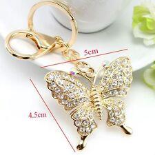 Accessories Butterfly Key Chain Rhinestone Key Ring Key Chains Fashion Jewelry