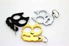 Outstanding Classic Golden White Cat Key Chain Personal self defense Keyrings