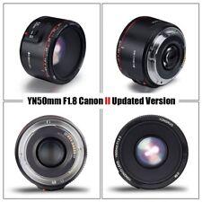 NEW! YONGNUO YN50MM F1.8 II Auto & manual Focus Lens For C anon EF EOS Camera