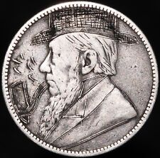 More details for 1894 | south africa 1 shilling 'engraved/graffiti' | silver | coins | km coins