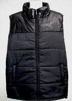 MARC ECKO mens UNSEEN black puffer jacket bodywarmer vest XL 2XL NEW