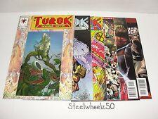 Turok 6 Comic Lot Valiant 1993 #1 4 11 25 Empty Souls Timewalker 1 Rags Morales