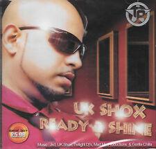 UK SHOX READY 2 SHINE - BRAND NEW BHANGRA SOUND TRACK CD