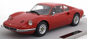 TOP MARQUES COLLECTIBLES Ferrari 246 GT Dino Red 1:12 LARGE CAR LE 250pcs*New
